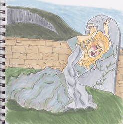 Liza Weeping by Pheonix4