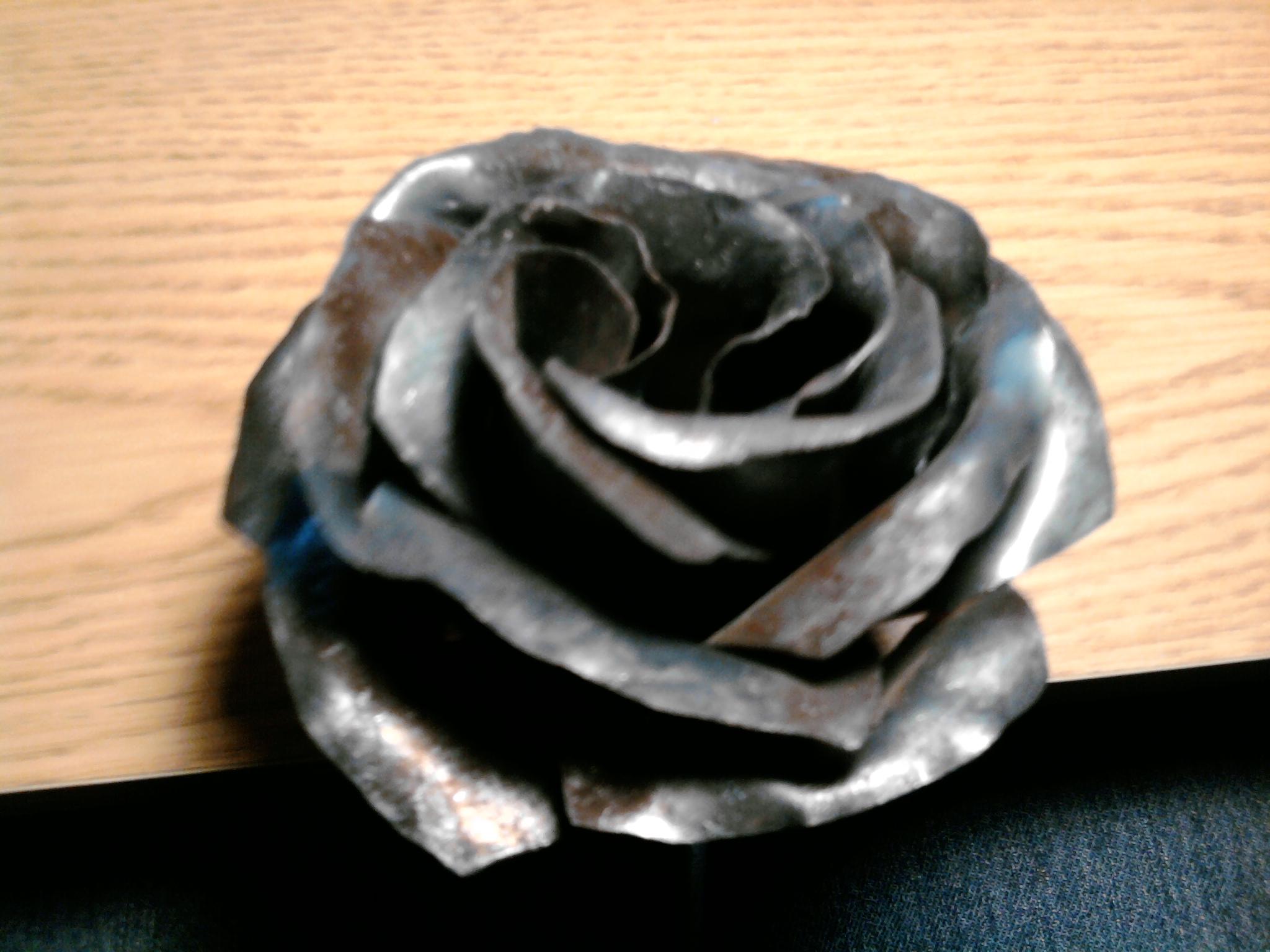 Metal Rose Template