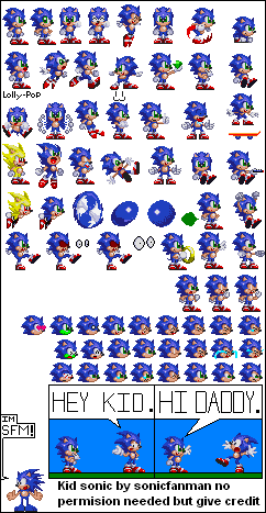 Young Sonic The Hedgehog By Sonicfanman On Deviantart