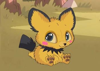 pichu the pokemon by arineux