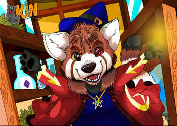 pan pan the magic panda by arineux