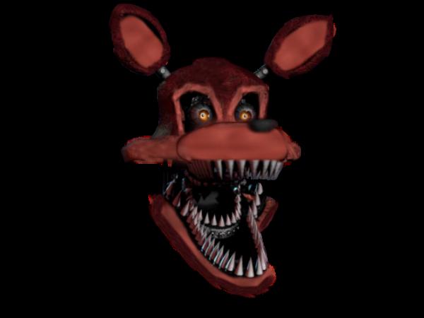 Fixed Nightmare Foxy (Head) By MangleDaMango On DeviantArt