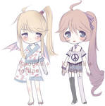 Girl Adoptables AUCTION - CLOSED