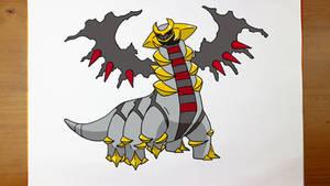How To Draw Pokemon - Giratina 2