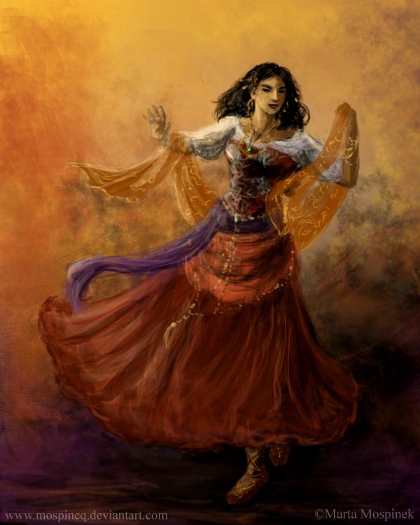 Gypsy dancer by Mospineq on DeviantArt