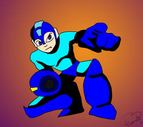 Mega man for jam by WillyMammoth33