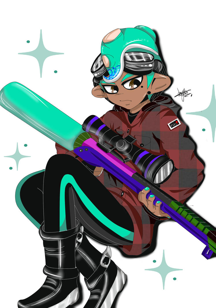 In game Octo Sketch by Jay-Huggzz