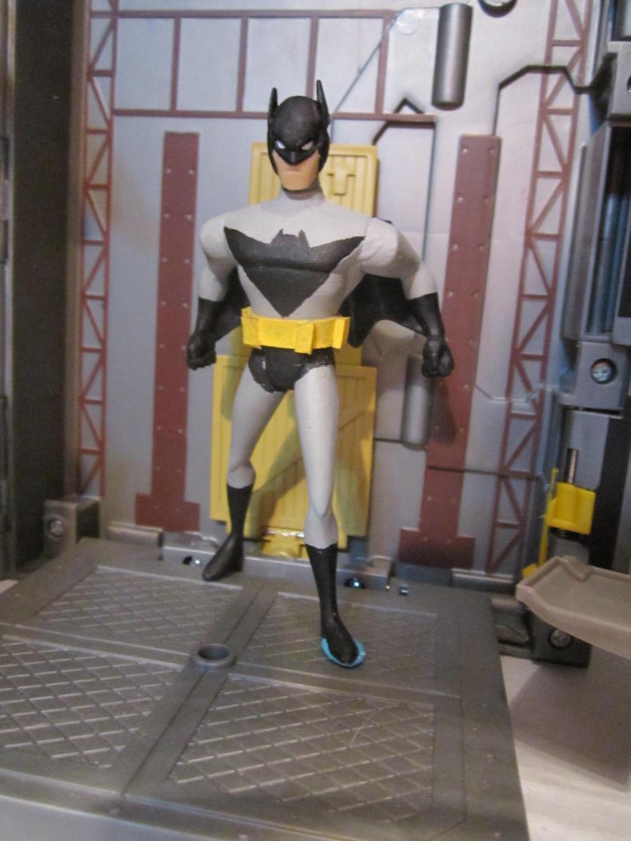 Bat Speed Monitor : Jlu batman inc acro bat ii by monitor earthprime on
