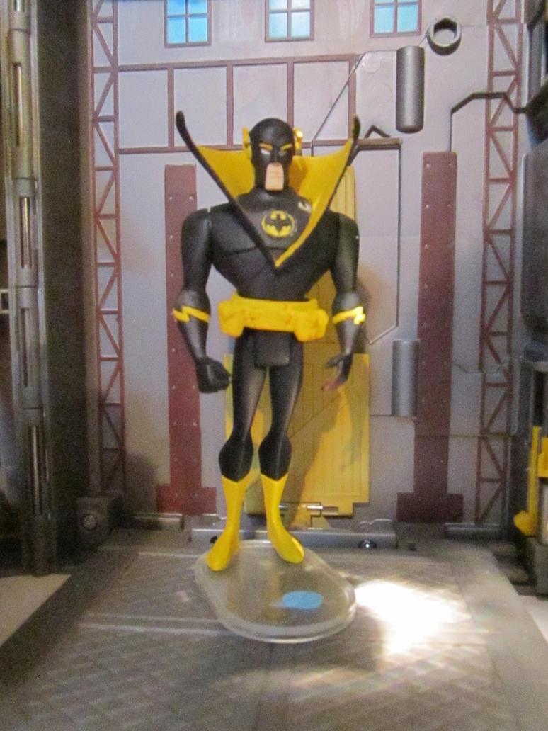 Bat Speed Monitor : Jlu batman inc quicksilver the bat flash by monitor