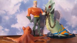 DC SUPER PETS: AQUAMAN WITH STORM AND TOPO