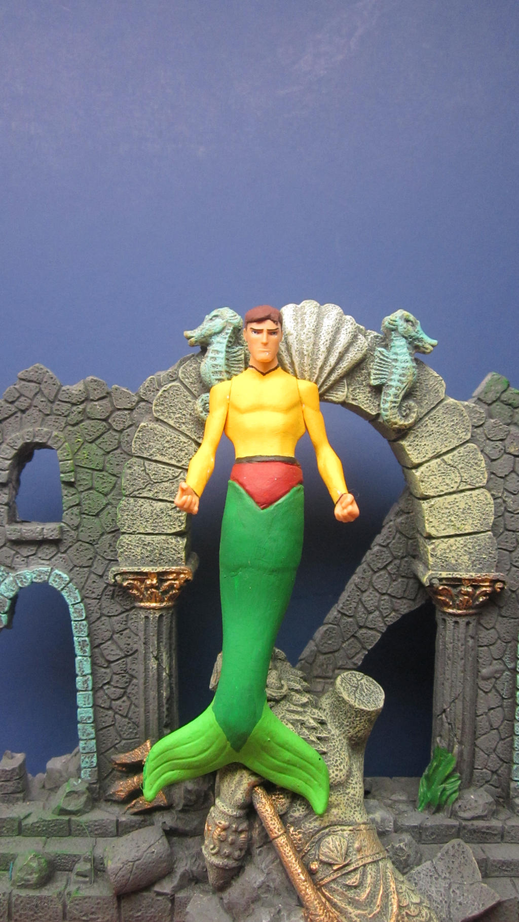 JLU: JERRO THE MERBOY by monitor-earthprime