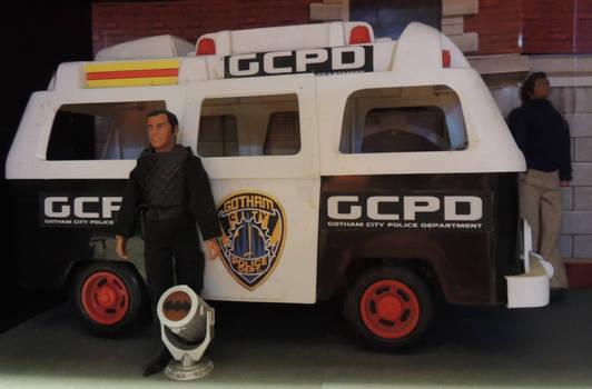 Mego Gotham City Police Van 1