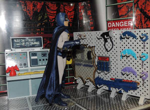 Batman '66 Batcave Weapons Wall