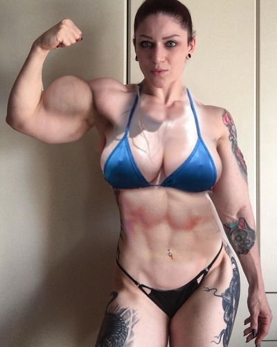 Jenna exploding bicep by within032