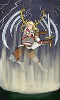 Arch Angel Of Swords