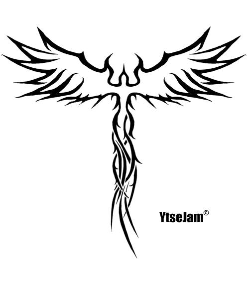 Fenix tribal by ytse80 on deviantart for Fenix tribal tattoo