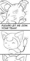 Pokemon MD - can join team prz