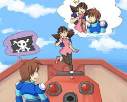Mega Man Legends - Rejection by Hikapi