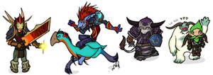 Warcraft Chibis Set9 by DivineTofu