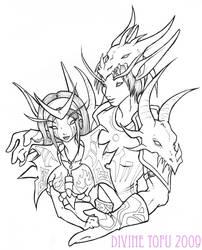Stalker of Dragons by DivineTofu