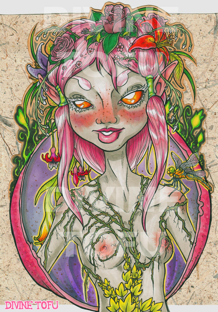 Flower Faerie by DivineTofu