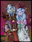Commission: Feledriel and Shmancy by DivineTofu