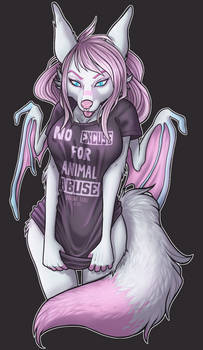 YCH My Favourite T-shirt - Tofu