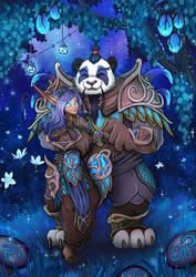 Pandaren Couples Portrait
