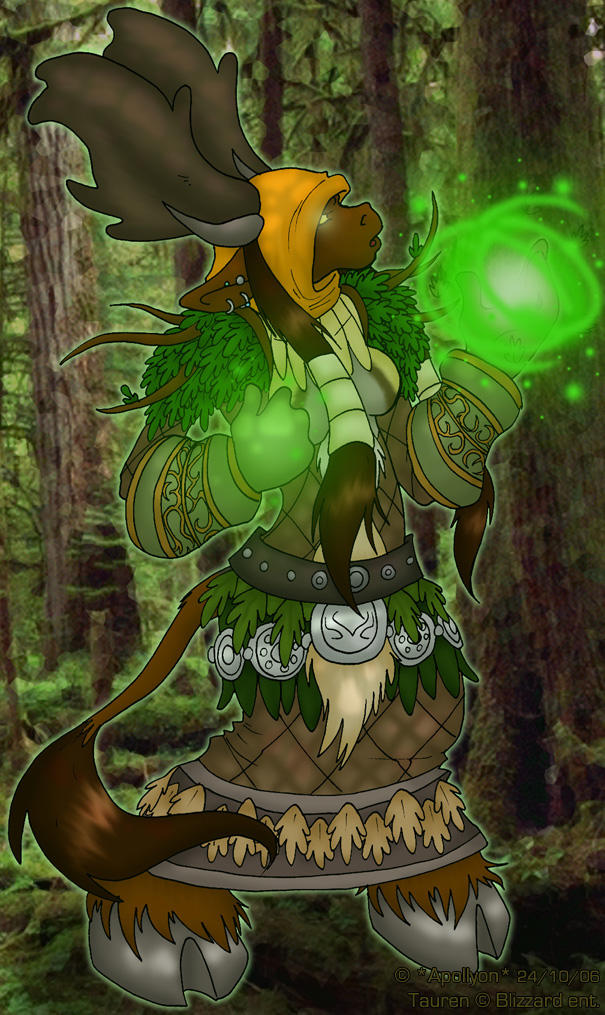 Antileah the Druid by DivineTofu