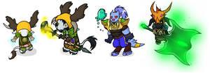 Warcraft Chibis Set4