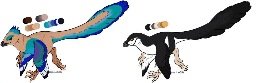 Raptor Birds 2: CLOSED by Dragonells