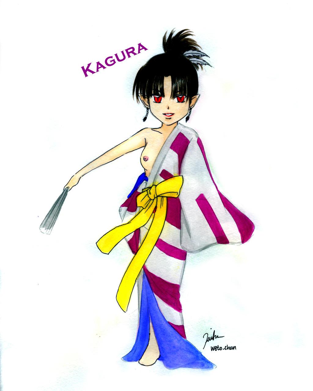 Chibi Kagura From Inuyasha By Wetochan ShizNat4EVER