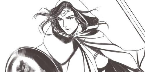 Gal Gadot Wonder Woman by wetochan