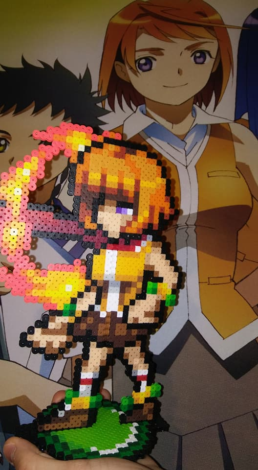 Mai Tokiha (My-HIME) PixelBit art by POPCycled 4 by ShizNat4EVER