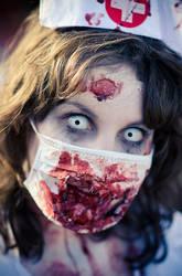 zombie nurse nikki by nikkinack