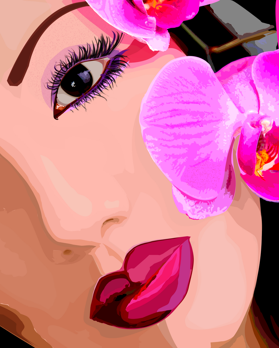 Orchid Vector Png
