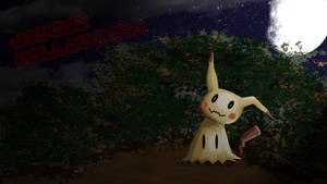 Pokemon :  Happy Halloween  Mimikyu