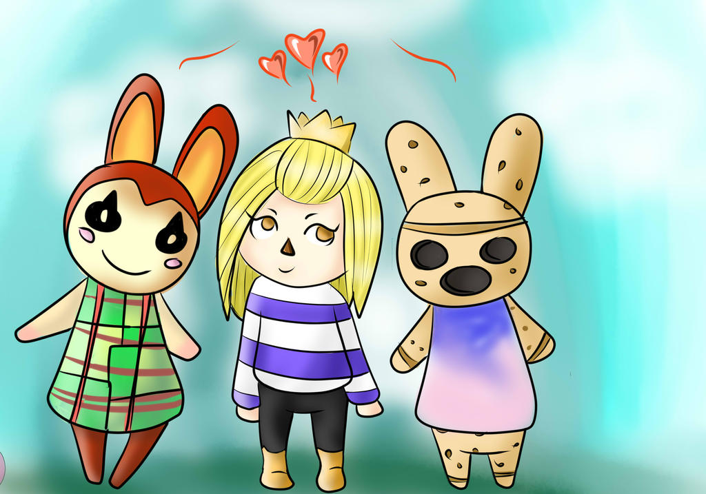 Animal Crossing New Leaf Commission by TheyCallMeDanger