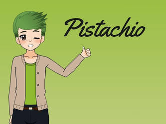 Pistachio (Contest Entry) by PikachuPuddingXD