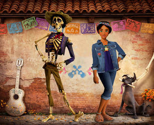 Pixar Coco: What if...? by returntowonderland