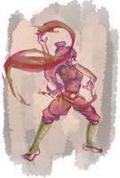 Firebender Annie by belphegor24