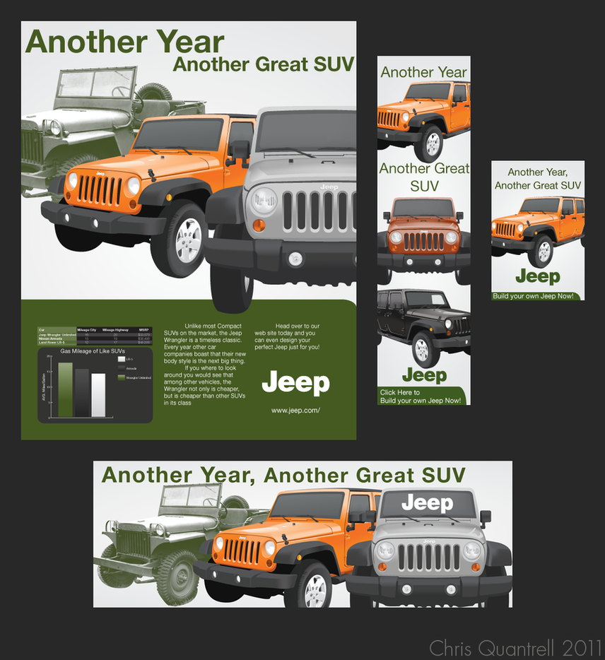 Jeep Advertising Campaign by R3YNO