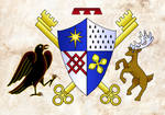 Rove Coat of Arms by improbablesage