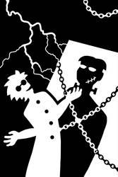 Frakenstein's Monster by improbablesage