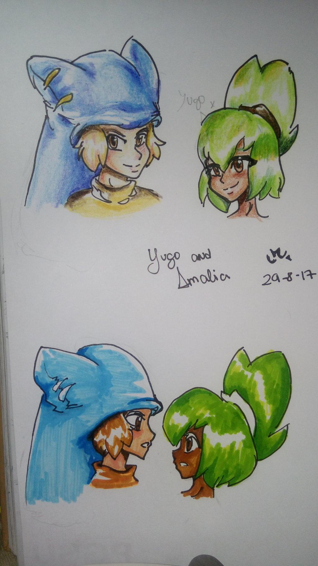 Amalia X Yugo wakfu yugo and amaliapauji132 on deviantart