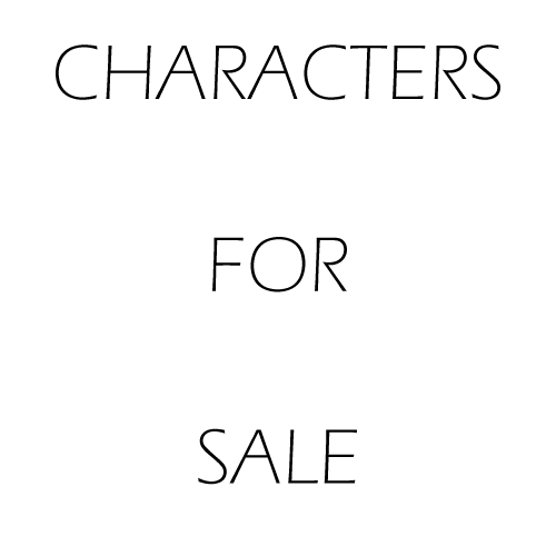 CHARACTERS FOR SALE by b-r-e-e-z-e-y