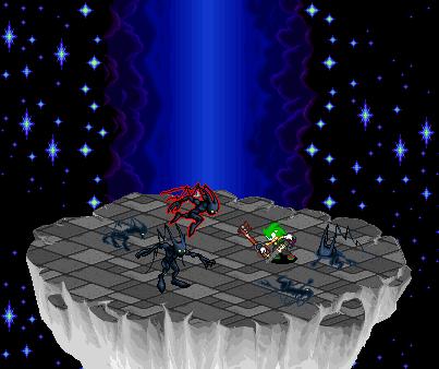 Luken vs. Neo-shadows by HolyWarriorLuken64