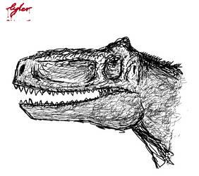 Paint (Computer Program) Dinosaur
