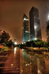 Guangzhou CBD by kornjacinvrac