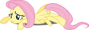 Fluttershy - defeated